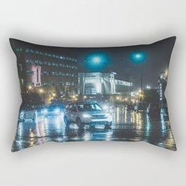 Street Scene - Memphis Photo Print Rectangular Pillow
