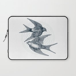 Two Swallows Laptop Sleeve