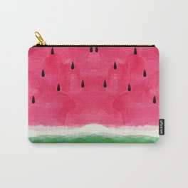 Watermelon Abstract Carry-All Pouch