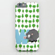 w for wild boar Slim Case iPhone 6s