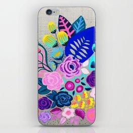 Linen Bouquet iPhone Skin