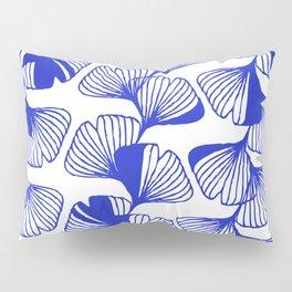 ginkgo cobalt blue Pillow Sham