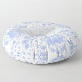 Light blue roses Floor Pillow