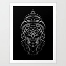 Venetian Mask 3 Art Print
