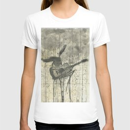 """GUITAR. A SERIES OF WORKS """"MUSIC OF THE RAIN"""" T-shirt"""