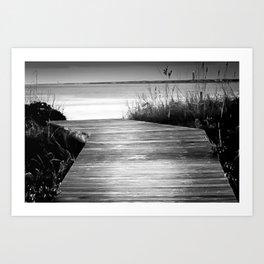Path to the Sea Art Print