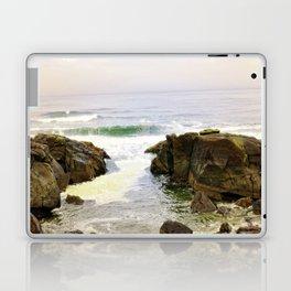 Yachats Oregon - Upon The Rocks Laptop & iPad Skin