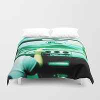 jeep Duvet Covers featuring Roadtrip NO4 by Julia Aufschnaiter