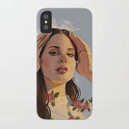 Lana Roses iPhone Case