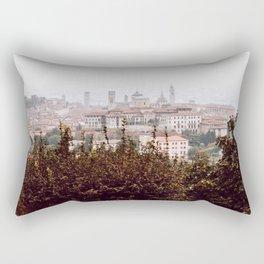 Citta Alta cityscape Rectangular Pillow