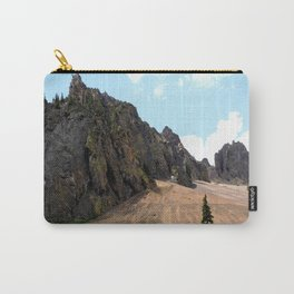 Rocky Crags above the Eureka Mine Carry-All Pouch