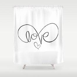 Eternalove Shower Curtain