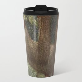 Vintage Sloth Painting (1909) Travel Mug