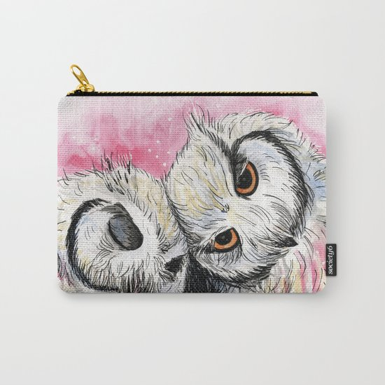 owl snuggles Carry-All Pouch