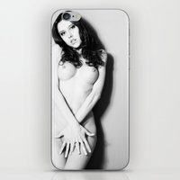 nudes iPhone & iPod Skins featuring Nude by Falko Follert Art-FF77