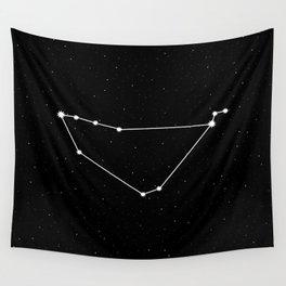 Capricorn Star Sign Night Sky Wall Tapestry
