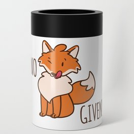 No Fox Given Can Cooler