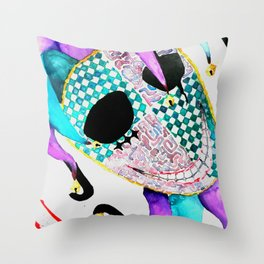 Jester Throw Pillow