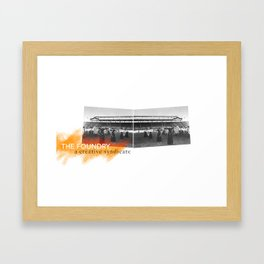 ad Framed Art Print