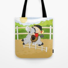 Olympic Sports: Equestrian Tote Bag