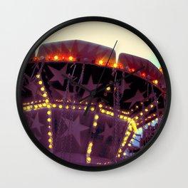 Or Was It a Dream (II)? ~ vintage carnival Wall Clock