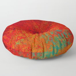 Figuratively Speaking, Abstract Art Floor Pillow