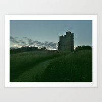 Castle in the Distance Art Print