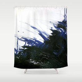 Incomplete battle Shower Curtain