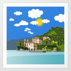 View in Mexico Art Print