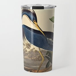 John James Audubon - Louisiana Heron Travel Mug