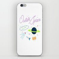 outer space iPhone & iPod Skins featuring Outer Space! by Conscious Transmitter