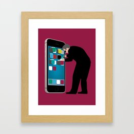 Indiscriminate Collection of U.S. Phone Records Violates the Fourth Amendment Framed Art Print
