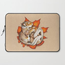 Autumn Squirrels Laptop Sleeve