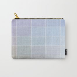 Pastel Square Gradient Pattern Carry-All Pouch