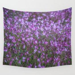 Magenta Flora Wall Tapestry