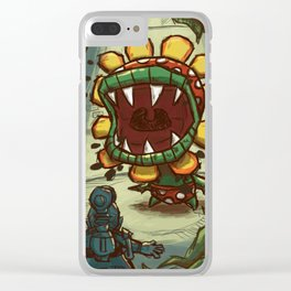 WINDMILL SHOWDOWN Clear iPhone Case