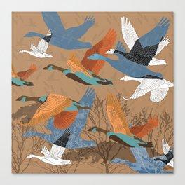 Goose Canvas Print