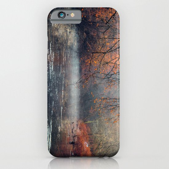 between fall & winter iPhone & iPod Case