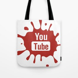youtube youtuber - broadcast best design you tube for YouTube lover Tote Bag