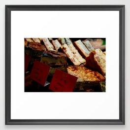 """""""Quichés"""" Framed Art Print"""