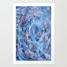 Driven to Abstraction Art Print