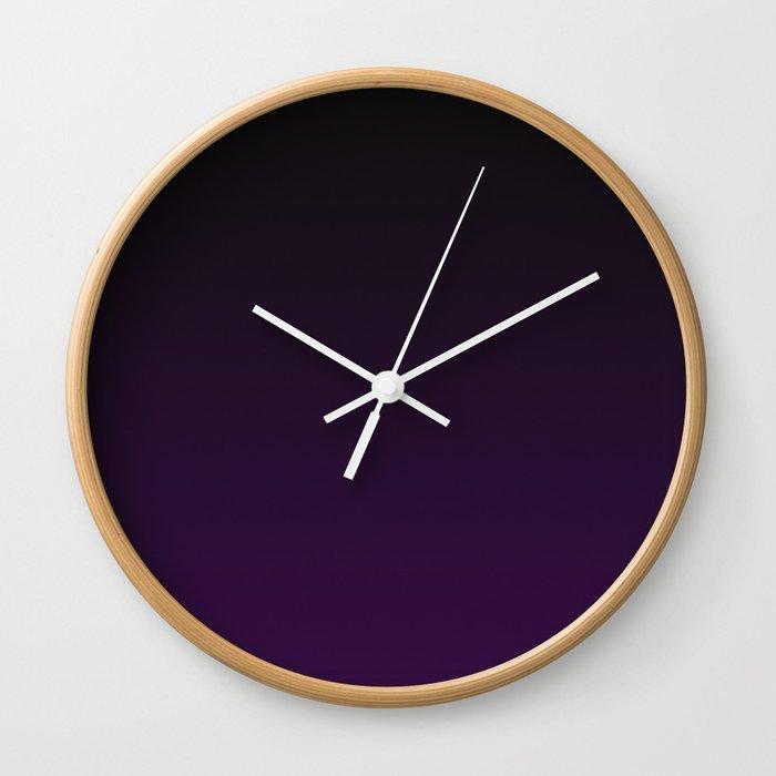 Royal Ombre Wall Clock
