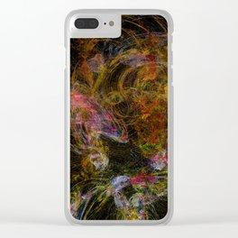 Fractal Kaos Clear iPhone Case