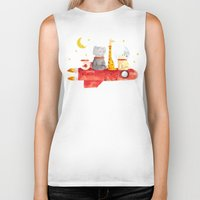 bruno mars Biker Tanks featuring Let's All Go To Mars by Picomodi