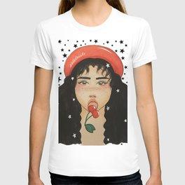 Cherry Beret T-shirt