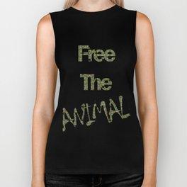 FREE THE ANIMAL - PAVÃO Biker Tank