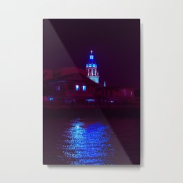 Futuristic Church / Bladerunner Vibes / Bangkok Metal Print