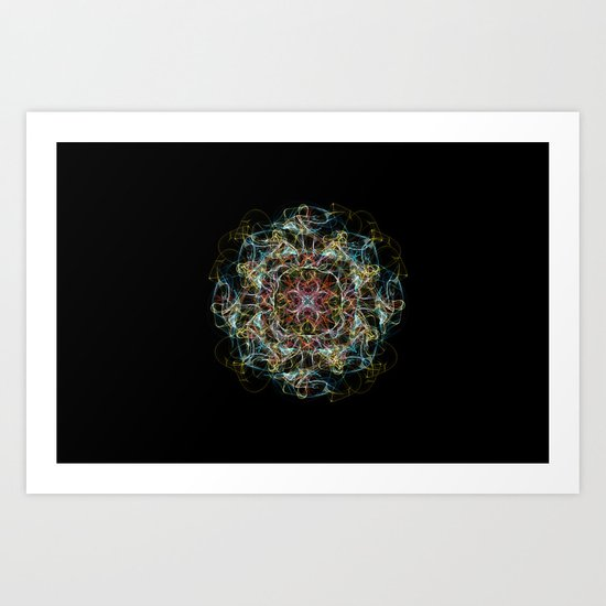 IF I Had A Country, this would be its flag. Art Print