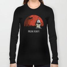 Drunk Robot Long Sleeve T-shirt