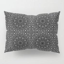 Black ornament 8 Pillow Sham